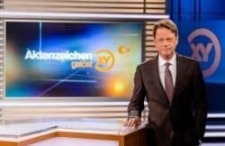 """Moderator Rudi Cerne ZDF zeigt vierte Sonderausgabe """"Aktenzeichen XY... gelöst!"""""""