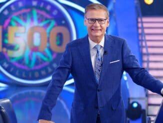 """Moderator Günther Jauch """"Wer wird Millionär? - Das Jubiläum zur 1.500. Sendung"""""""