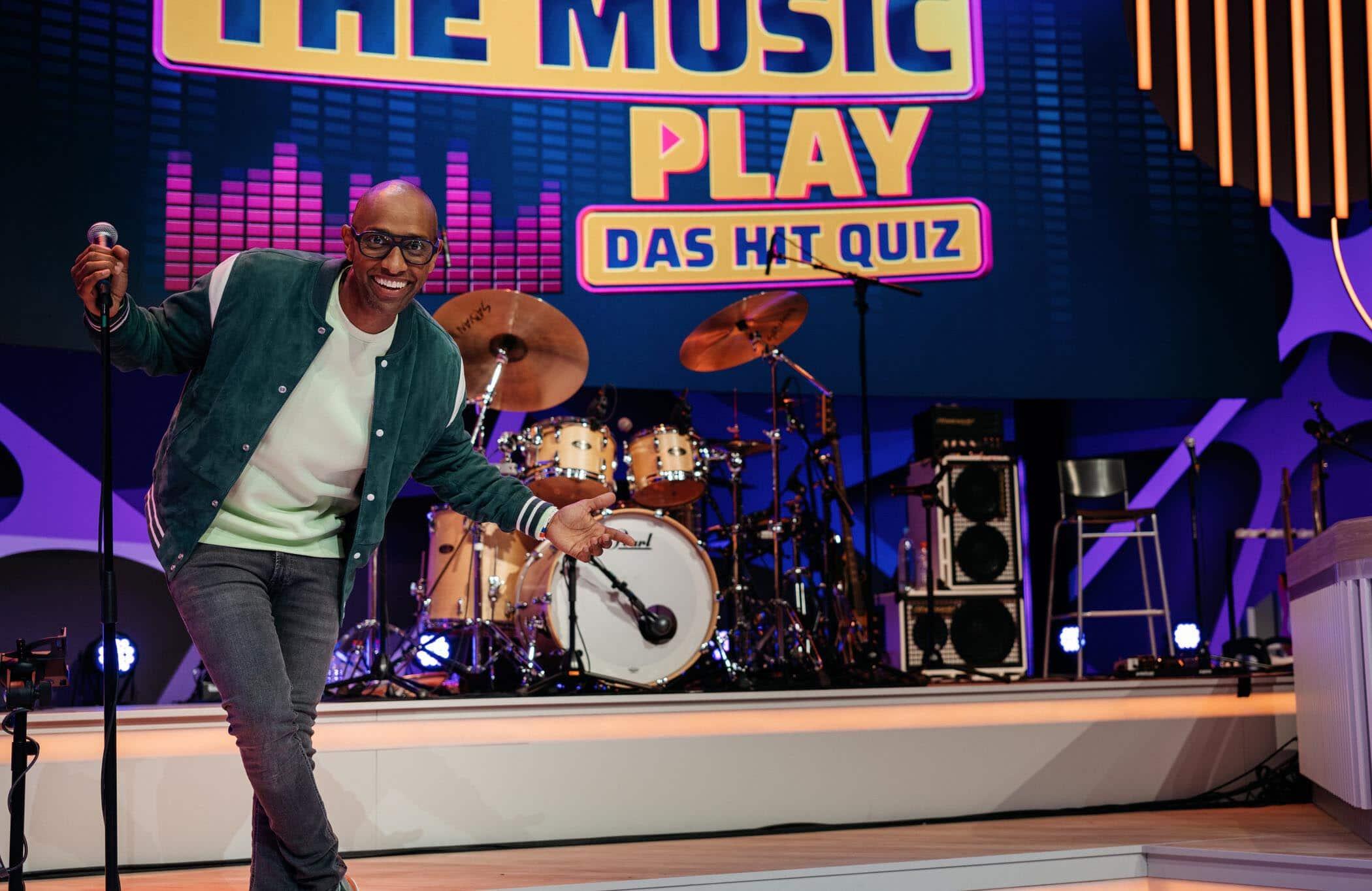 "Amiaz Habtu ""Let the music play - Das Hit Quiz"""