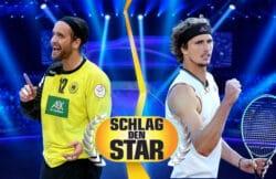 """""""Schlag den Star"""": Silvio Heinevetter und Alexander Zverev"""