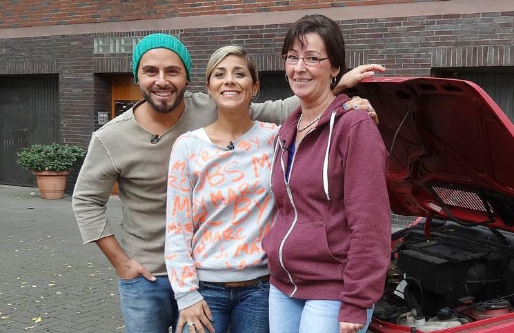 biete Rostlaube, suche Traumauto: Panagiota Petridou bei Carmen in Düsseldorf - TV News