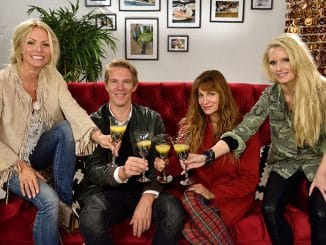 Sonya Kraus, Alexandra Kamp, Mirja du Mont und Simon Gosejohann