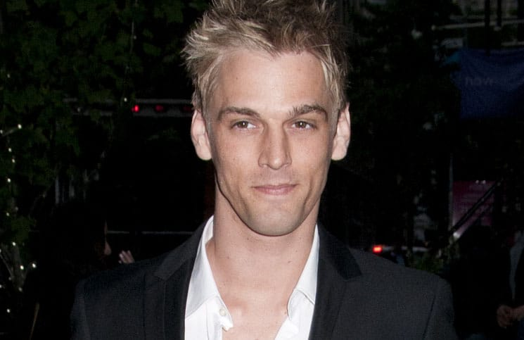 "Aaron Carter - ""Hick"" New York City Screening Hosted by Cinema Society & Phase 4 Films"
