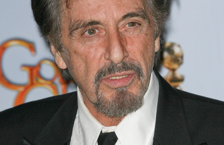 Al Pacino - 68th Annual Golden Globe Awards