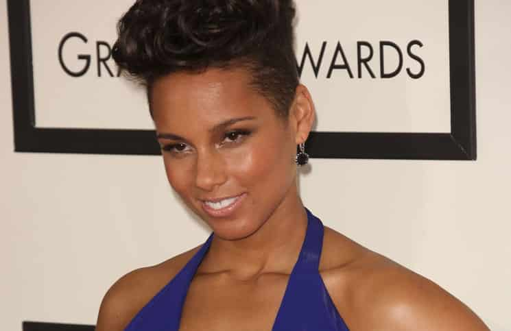 Alicia Keys - 56th Annual Grammy Awards
