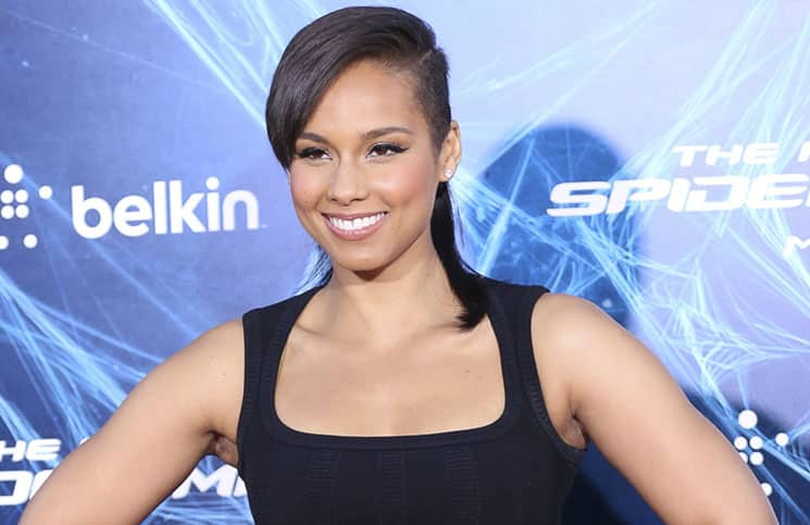 "Alicia Keys - ""The Amazing Spider-Man 2"" New York City Premiere - Arrivals"