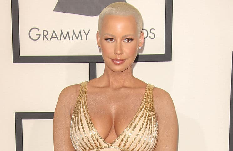 Amber Rose - 56th Annual Grammy Awards