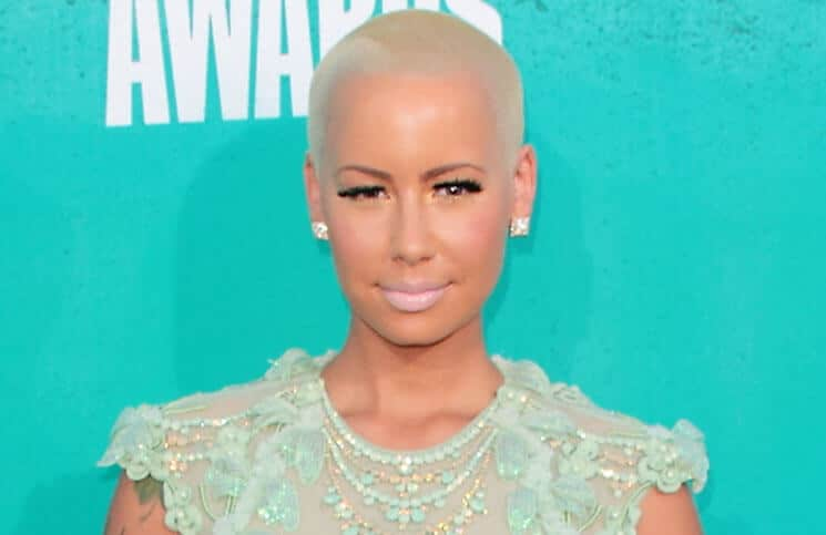 Amber Rose - 2012 MTV Movie Awards - Arrivals