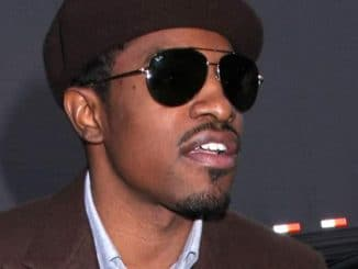 Andre 3000 - Celebrity Arrivals at MTV's TRL on February 25, 2008 - MTV Studios