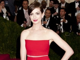 """Anne Hathaway - """"Charles James: Beyond Fashion"""" Costume Institute Gala"""
