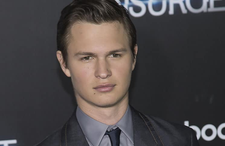 "Ansel Elgort - ""The Divergent Series: Insurgent"" New York City Premiere"