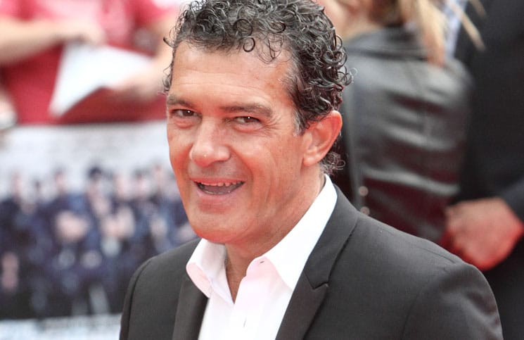 "Antonio Banderas - ""The Expendables 3"" World Premiere - Arrivals - Odeon, Leicester Square"