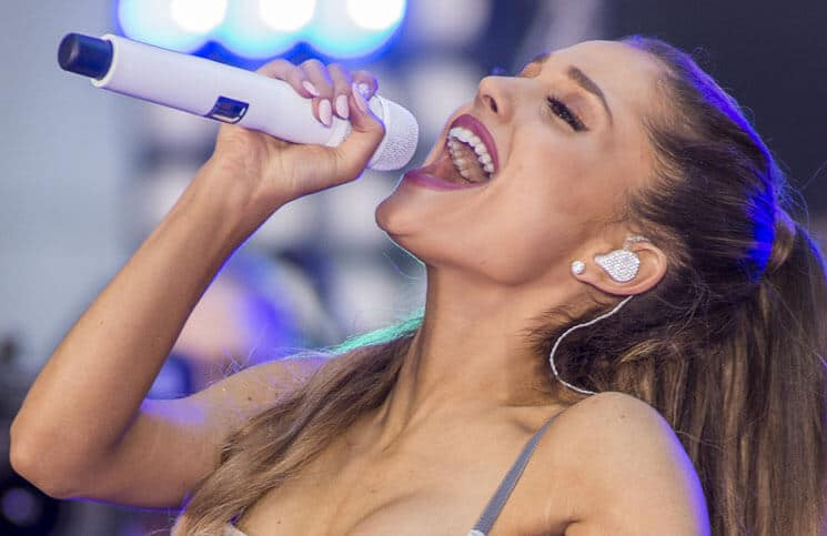 "Ariana Grande - Ariana Grande in Concert on NBC's ""Today Show"" at Rockefeller Center in New York City"