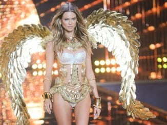 Behati Prinsloo - 2014 Victoria's Secret Fashion Show - Runway