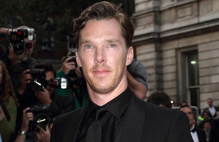 Benedict Cumberbatch - GQ Men of the Year Awards 2014
