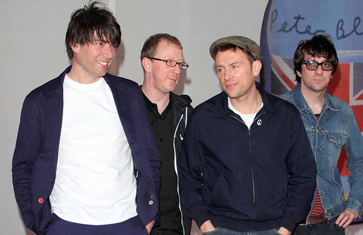 Blur - BRIT Awards 2012 - Arrivals