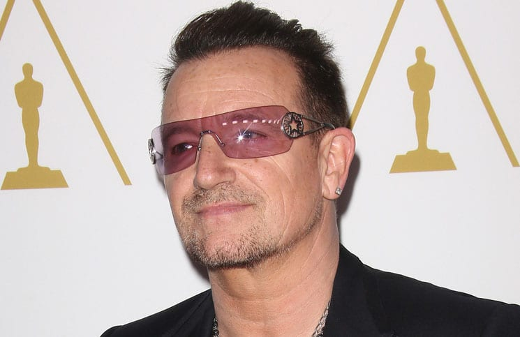 Bono - 86th Annual Oscars Nominee Luncheon