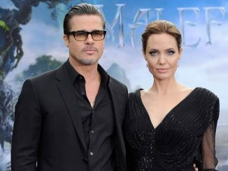 "Brad Pitt and Angelina Jolie - ""Maleficent"" Costume and Props Private Reception"