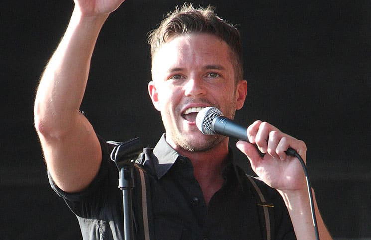 Brandon Flowers - Hop Farm Festival 2011