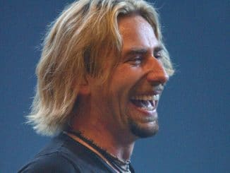 Chad Kroeger - Nickelback Performs Live In Concert - Joe Louis Arena