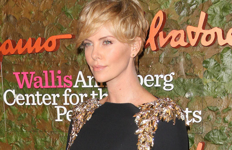 Charlize Theron - Wallis Annenberg Center for the Performing Arts Inaugural Gala