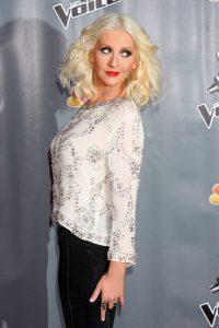 "Christina Aguilera - ""The Voice"" Season 5 Top 12 - Arrivals"