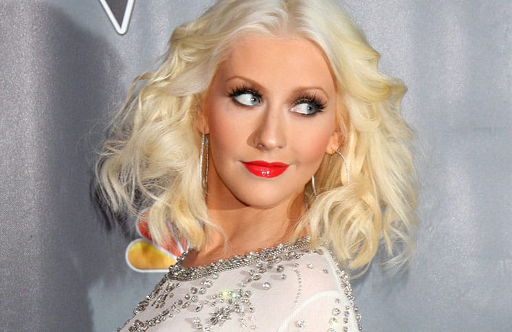 "Christina Aguilera - ""The Voice"" Season 5 Top 12 - Arrivals"