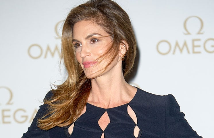 Cindy Crawford - Omega Oxford Street Boutique Store Opening VIP Dinner