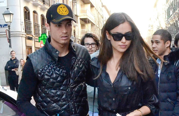 Cristiano Ronaldo and Irina Shayk - Cristiano Ronaldo and Irina Shayk Sighted Shopping in Madrid