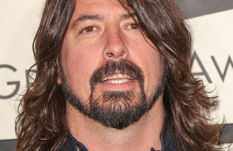 Dave Grohl bei den Grammy Awards 2014