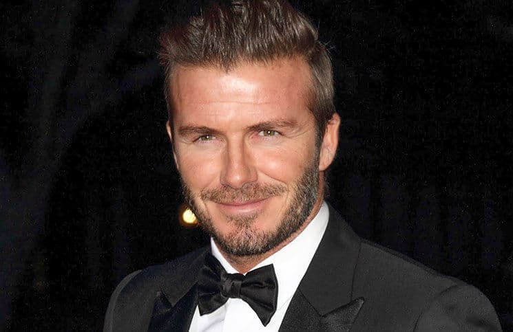 David Beckham - The Sun Military Awards 2014 - Arrivals