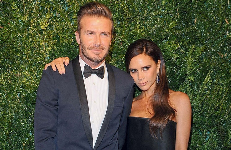 David Beckham and Victoria Beckham - 60th Annual Evening Standard Theatre Awards
