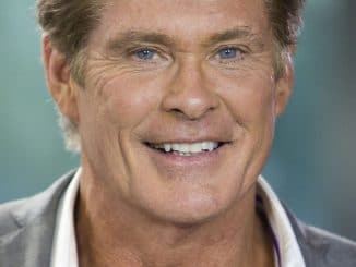 David Hasselhoff Visits The Morning Show in Toronto