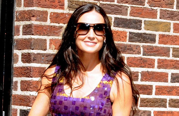 Demi Moore - The Late Show with David Letterman