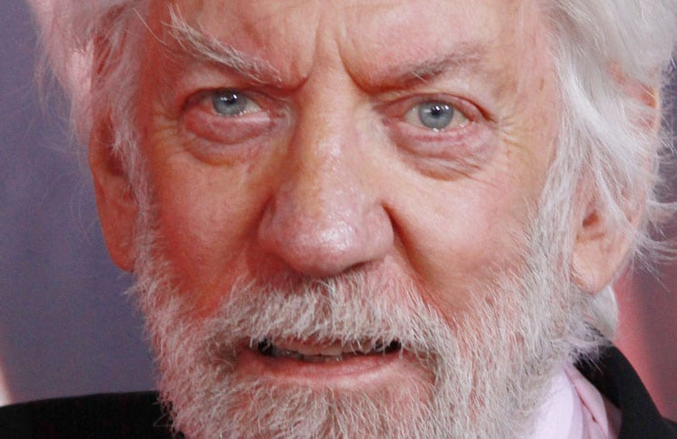 "Donald Sutherland - ""The Hunger Games: Catching Fire"" Los Angeles Premiere"