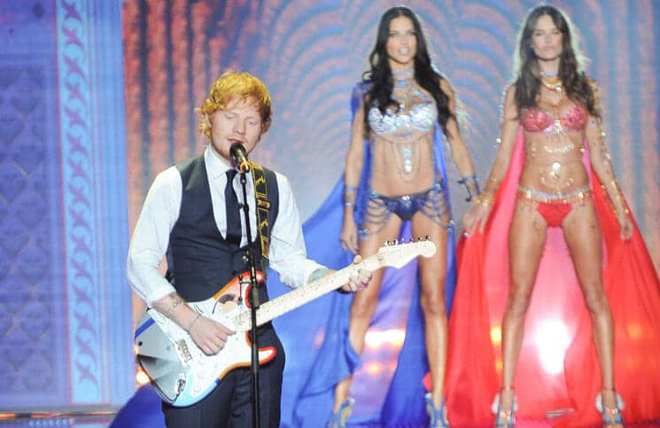 Ed Sheeran - 2014 Victoria's Secret Fashion Show