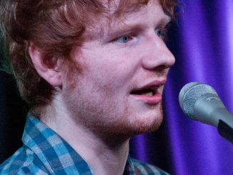 Ed Sheeran in Concert at Q102 and Mix 106 Performance Theatre in Bala Cynwyd - July 04, 2014