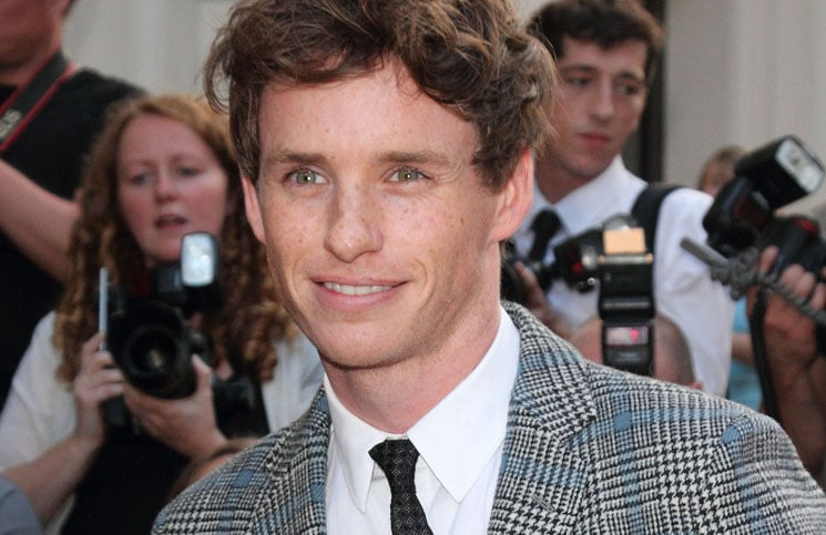 Eddie Redmayne - GQ Men of the Year Awards