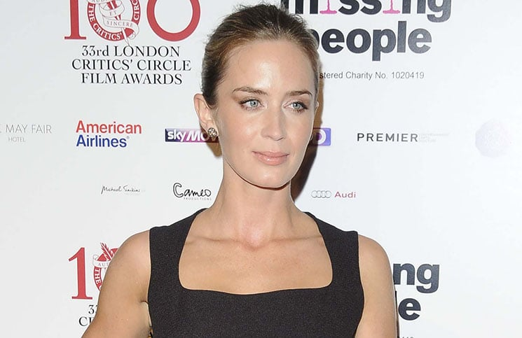 Emily Blunt - 33rd Annual London Film Critics' Circle Awards