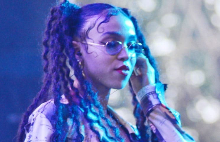 FKA twigs - 2014 Pitchfork Music Festival in Chicago