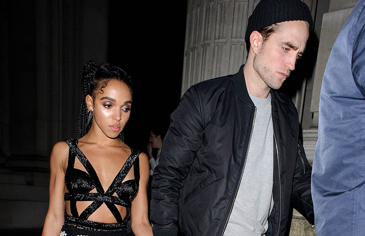 FKA Twigs and Robert Pattinson sighting in London