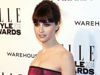Felicity Jones - Elle Style Awards 2014 - Arrivals - One Embankment
