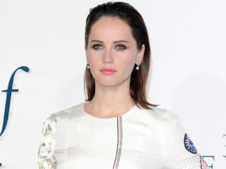 """Felicity Jones - """"The Theory of Everything"""" UK Premiere"""