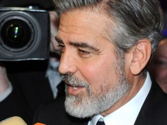 George Clooney Attends the German Media Prize Award