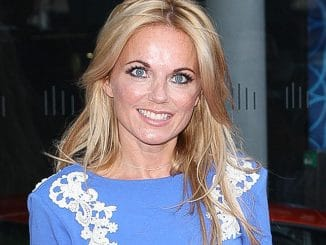 Geri Halliwell - McLaren Automotive London Showroom Grand Opening