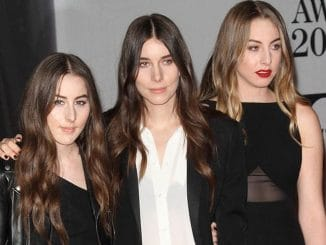 Haim - BRIT Awards 2014 - Arrivals
