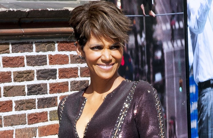 "Halle Berry - ""Late Show with David Letterman"" - July 7, 2014"