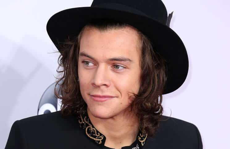 Harry Styles at the 2014 American Music Awards