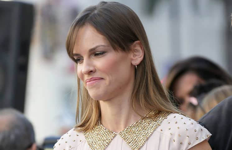 Hilary Swank - Mariska Hargitay Honored with a Star on the Hollywood Walk of Fame