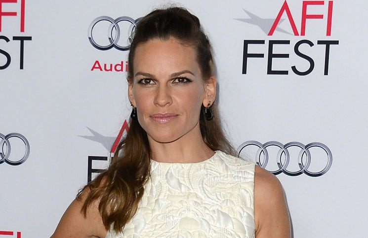 "Hilary Swank - AFI FEST 2014 Presented By Audi ""The Homesman"" Premiere"